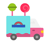 Allsorts of Sweets Candy Truck